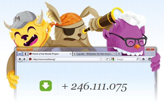 Firefox 5 llegó más rápido de lo esperado.