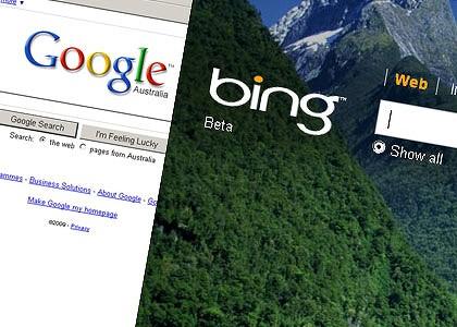 Google y Bing, las dos caras muy opuestas de la moneda.