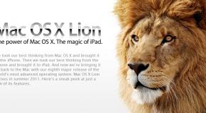 Mire, descargue y use… la exitosa fórmula de Apple para vender su nuevo sistema Lion.