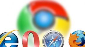 Internet Explorer agoniza en un universo donde Firefox permanece dormido y Chrome pelea por tomar su lugar.