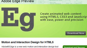 """Adobe aún """"confía"""" en Flash pero lanza su propio software para animaciones HTML5 por si algo sale mal."""