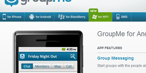 Si hay una aplicación que puede hacer daño a WhatsApp, esa es GroupMe.