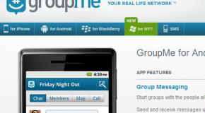 GroupMe se pavoneó como señorita en minifalda y Skype cayó ante sus encantos.