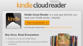 Amazon usó la fómula Kindle + Cloud + HTML5 y creó la combinación perfecta: un lector en todos lados..