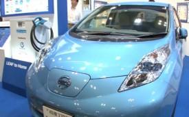 Nissan avanza con el tema eléctrico, lanza sistema de transferencia de energía del vehículo al hogar