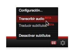 YouTube más accesible, lanza auto-subtítulos en español