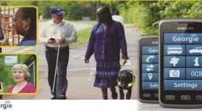 Georgie, la novedosa App para ciegos