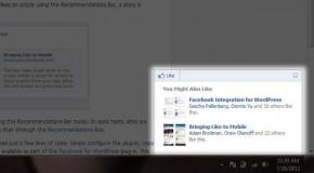 Facebook te recomienda al estilo de Digg