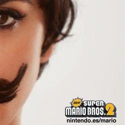 ¿Quién se ocultará bajo ese tupido bigote de Mario Bros?