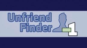 Unfriend Finder: Fuera de mi lista de contactos