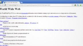 Primer página Web festeja 20 años ¿Qué seríamos sin ella?