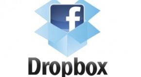 Tus archivos Dropbox ya estarán en Facebook