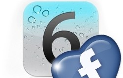 """Facebook el nuevo """"platillo"""" de iOS6"""