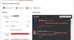 Twitter lanza widget que te permitirá interactuar desde otras webs