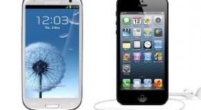 Galaxy S3 con mejor pantalla ante iPhone 5