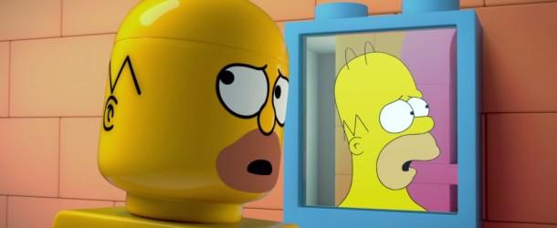 """Homero lo sabe, Los Simpsons se han """"Legolizado""""."""