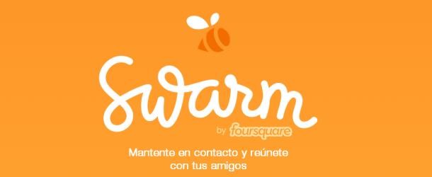 Foursquare lanza Swarm y cambia la forma de hacer 'check-ins'